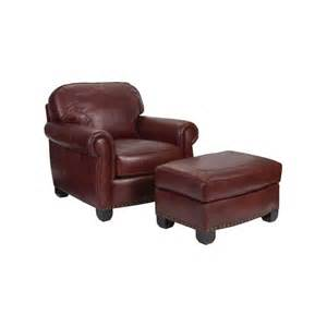 Small Leather Chairs With Ottomans New Vintage Leather Chair Ottoman Sellman Furniture And Bedding Covington Ohio