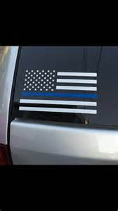 thin blue line decal thin line decal white flag car