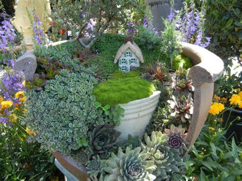 Mini Garten Basteln deko bastelideen reizvollen mini garten kreieren