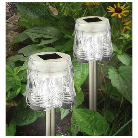 Westinghouse Outdoor Solar Lights 20 Pk Of Westinghouse 174 Vintage Glass Solar Lights 302515 Solar Outdoor Lighting At