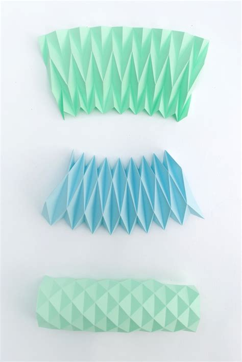 Accordion Paper Folding - accordion paper folding candle holders minieco