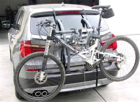 bmw bicycle mercedes gl bike rack modern arc based design