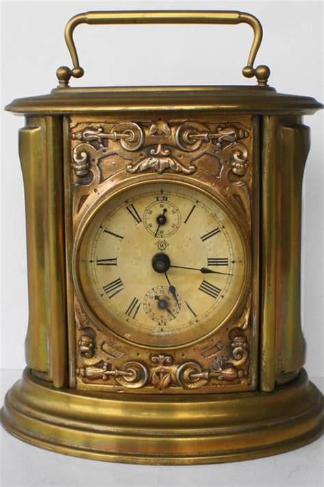 oval brass alarm clock approx 1900 catawiki