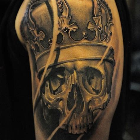 skull with crown tattoo designs 19 best images about sleeve on