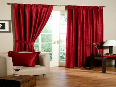 red window curtains door windows hot red window curtain design ideas