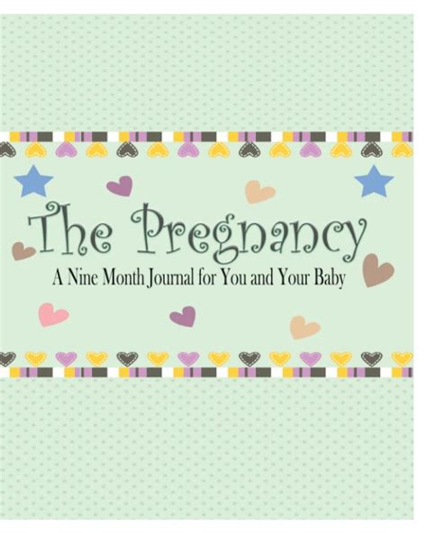 the nine month pregnancy diary changes in pregnancy books the pregnancy a nine month journal for you and your baby