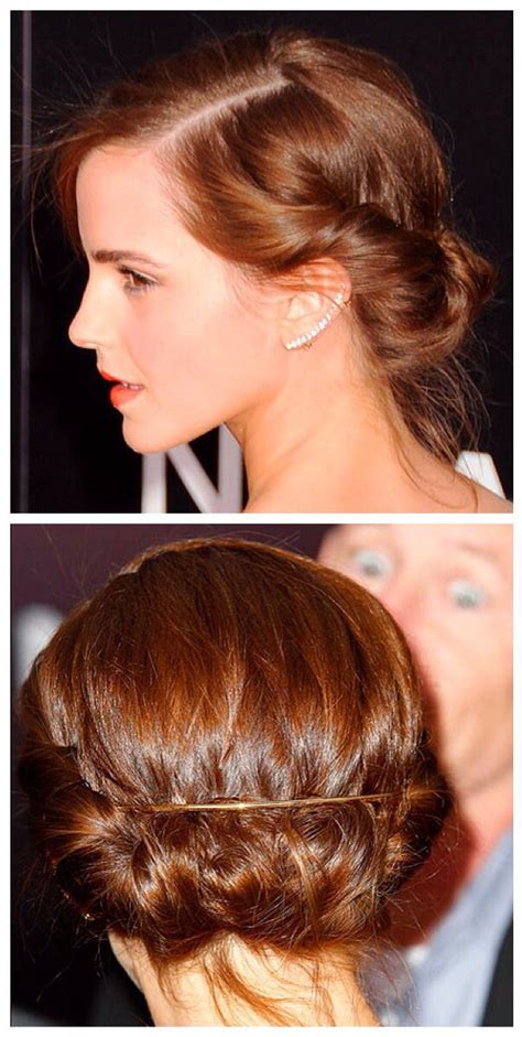 Older Actresses With Hair In Bun | http media cache ak0 pinimg com originals 5f ba cd