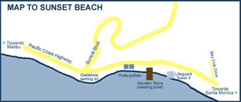 Pch And Sunset Blvd - surfing la surf school locations