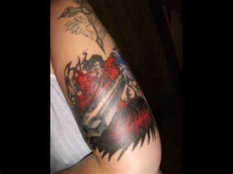 hellsing tattoo my hellsing autographed 0001