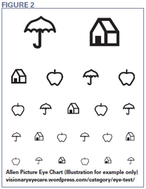 printable eye chart preschool teller acuity cards google search pediatric