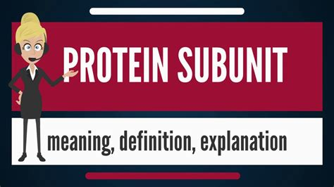 protein meaning what is protein subunit what does protein subunit