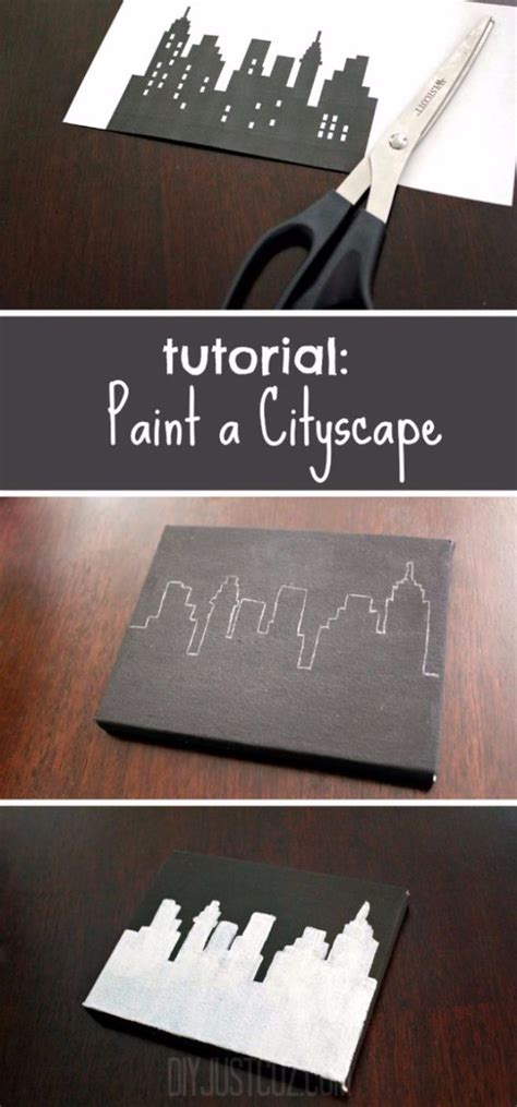 super easy diy canvas painting ideas  artistic home