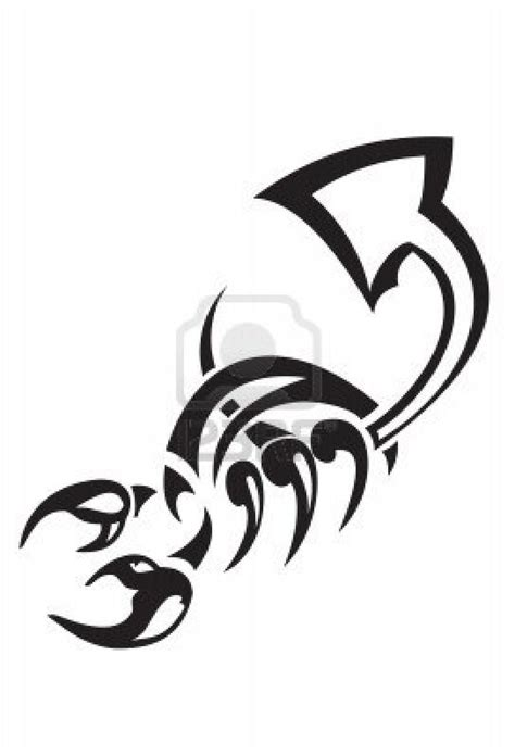 scorpion tattoo tribal tribal scorpion ideas