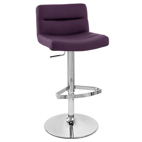 Purple Counter Height Bar Stools by Purple Lattice Adjustable Height Swivel Armless Bar Stool