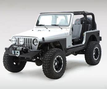 Smittybilt Jeep Fenders Xrc Armor Fenders Smittybilt