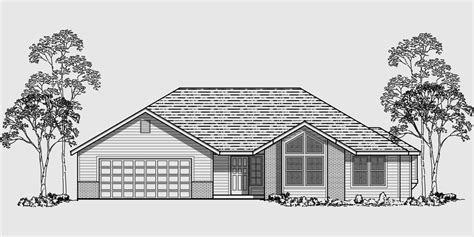 single level house plans ranch house plans house design ranch style home