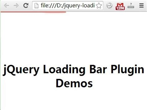 jquery top bar circular image progress bar plugin with jquery