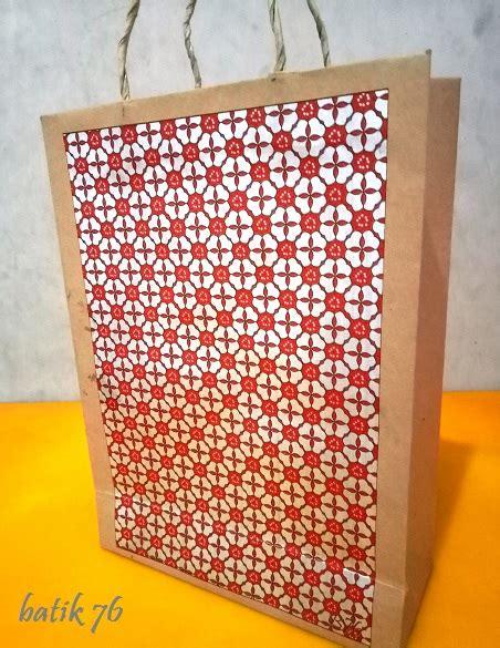 Jual Tas Kertas Batik by Jual Paperbag Tas Kertas Handmade Batik Motif Semanggi