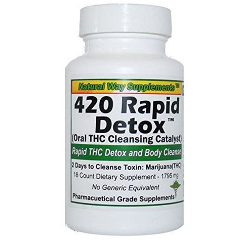 Best Way To Detox Thc In One Day 25 best ideas about thc detox on detox