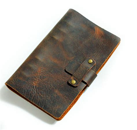 One Fifth Leather Travelers Notebook passio handmade refillable leather travelers journals diary genuine leather notebook diary