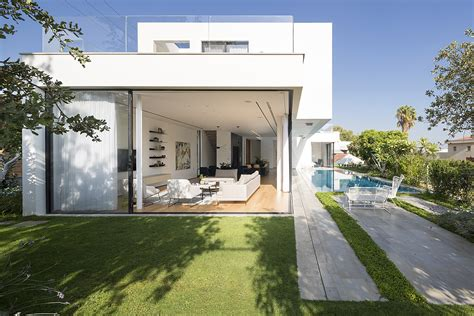 modern architecture of israeli house design aharoni house modern family home in israel seamlessly connects with the