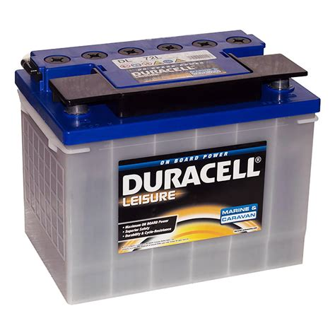 leisure battery charger duracell dl72l leisure battery www batterycharged co uk