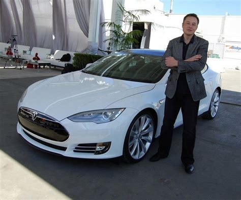 Tesla Electric Car History Elon Musk Inventor Entrepreneur Philanthropist And A