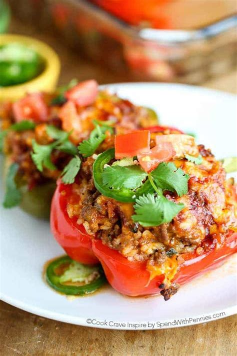 great dinner and ideas spend with pennies mexican stuffed peppers spend with pennies