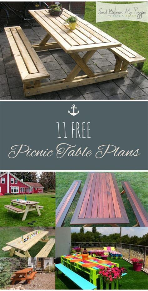 build your own picnic table best 25 folding picnic table ideas on