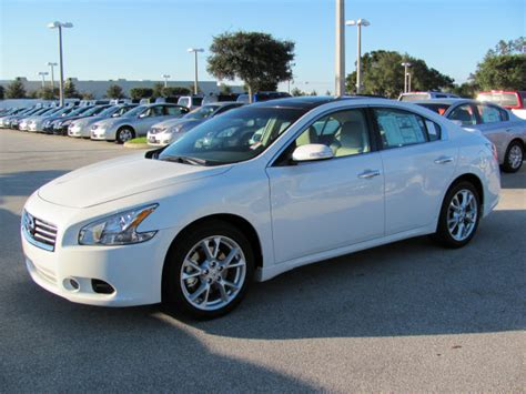 Is The Nissan Maxima All Wheel Drive by Nissan Maxima 2012 White Sedan Sv Gasoline 6 Cylinders