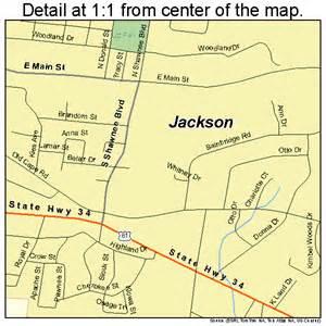 jackson missouri map 2935648
