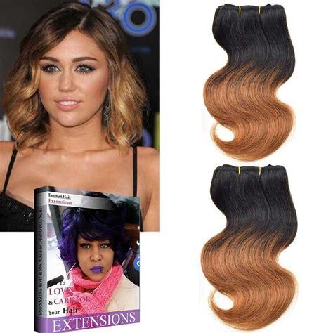 cheap haircuts eugene oregon 8inch brazilian ombre hair extension body wave virgin hair