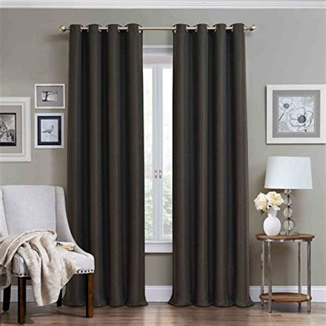 charcoal grey blackout curtains top 5 best charcoal grey curtains for sale 2016 product