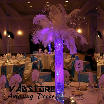 lighted table centerpieces led glass vase wedding table centerpiece lighted vase