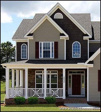most popular new home exteriors exterior siding types