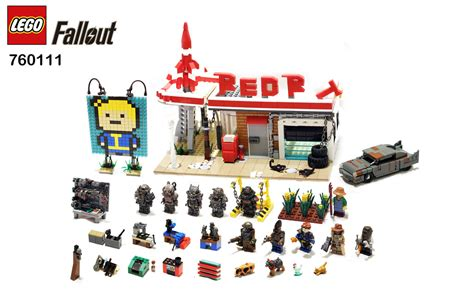 Build A 2 Car Garage by Lego Fallout Modular Red Rocket Station Settlement Flickr
