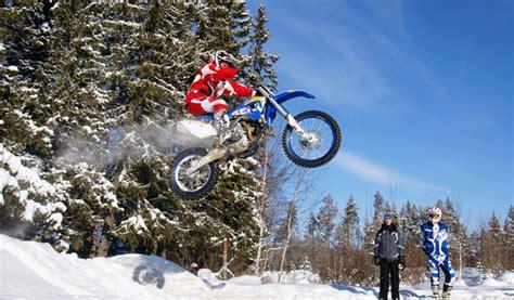 Motorrad Fahren Bei Schnee by Enduro Im Schnee Testbericht