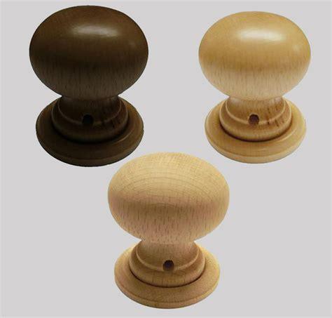 Door Knobs Woodies Beech Wood Wooden Mortice Door Knob Set Ebay