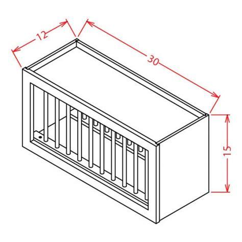 pr3015 shaker gray wall plate rack cabinet rta rta