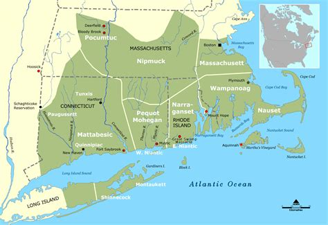 Nauset Light Map Of New England Cities And States