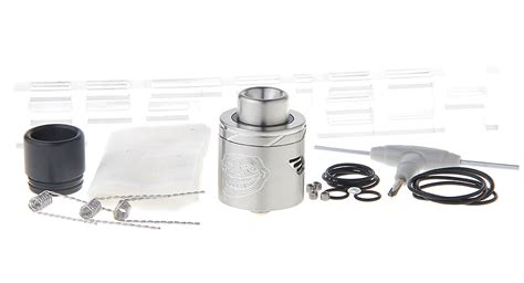 The Troll V2 25mm Rda Atomizer Silver Authentic Sku02039 19 90 authentic wotofo the troll v2 rda rebuildable atomizer stainless steel 25mm