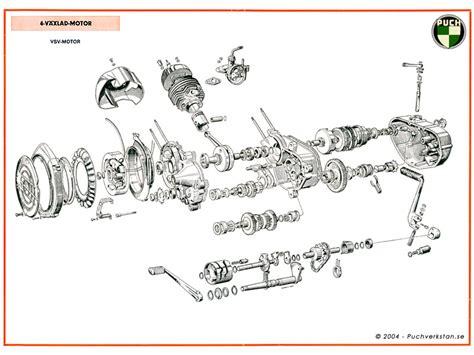 Sachs Motor 2 Växlad by 4 V 195 164 Xlad Vsv Motor