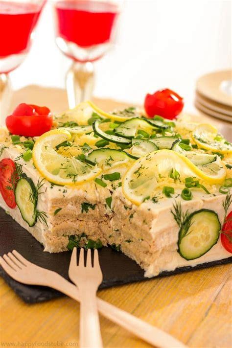 new year savory snacks savory tuna sandwich cake sm 246 rg 229 st 229 rta