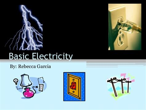 home electricity basics k grayengineeringeducation