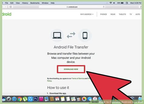 how to connect android to mac how to connect android to a mac with pictures wikihow
