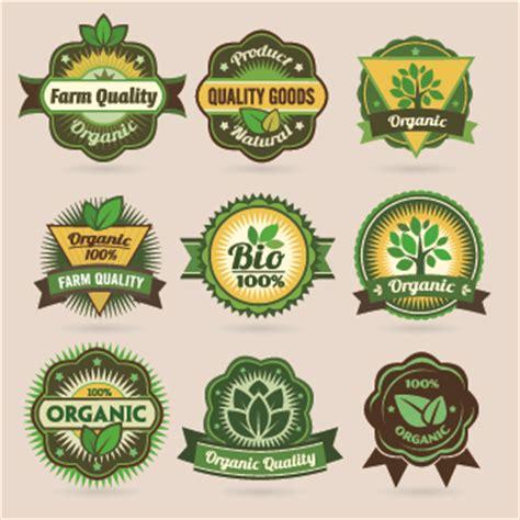Logo Etiketten by Eco Labels And Logos Vector Set 03 Vector Label Vector