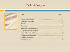 Nursing Professional Portfolio Template by Violet Nursing Portfolio