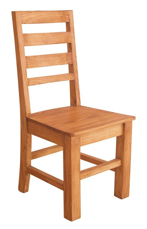 arizona rustic pine dining chairs tres amigos world imports