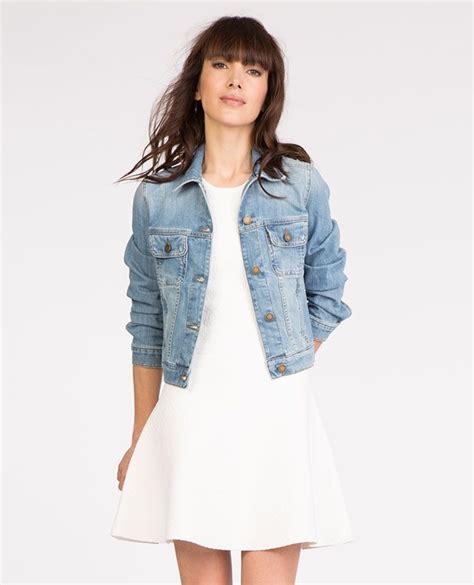 blouson cuir comptoir des cotonniers comptoir des cotonniers veste en jean tutto mode en