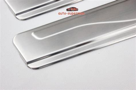 Sill Plate Sillplate Silplate Nissan X Trail 2014 S Murah door sill scuff plate guards protector for nissan x trail 2014 2015 2016 2017 ebay